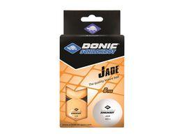 Donic Schildkroet Tischtennisball Jade Poly 40 Qualitaet 6 Stk im Blister orange