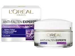 L OREAL PARIS Anti Falten Expert Calcium 55 Nachtpflege