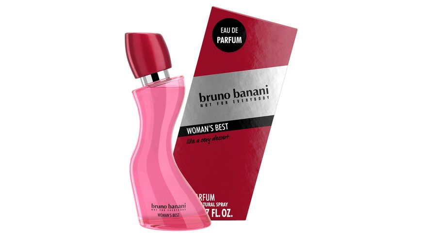 bruno banani Woman s Best Eau de Parfum Natural Spray