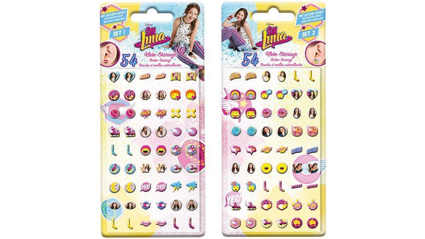 CRAZE Sticker Earrings Soy Luna sortiert