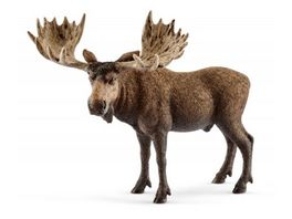 Schleich 14781 Wild Life Elch Bulle