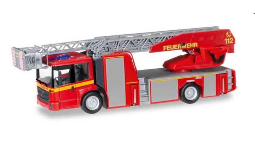 Herpa Mercedes Benz Econic Metz Drehleiter L32 XS Feuerwehr