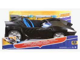 Mattel DC Justice League Action Doppelblaster Batmobil fuer 30 cm Figuren