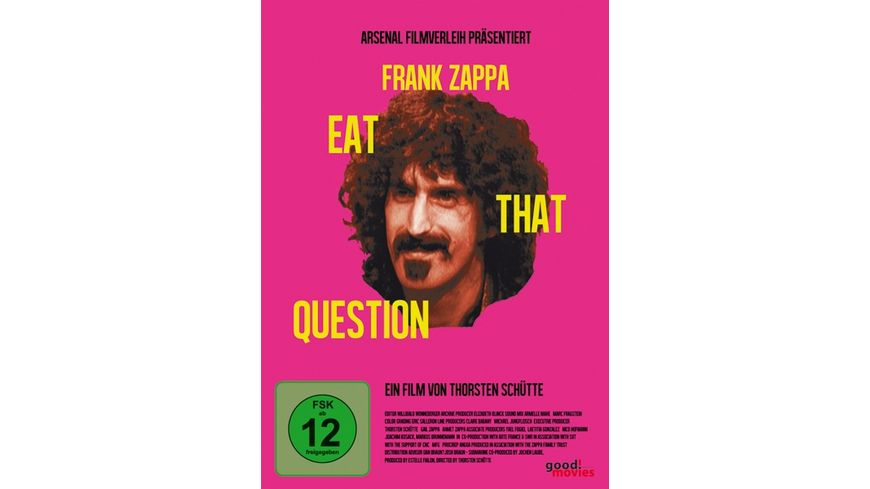 Frank Zappa Eat That Question