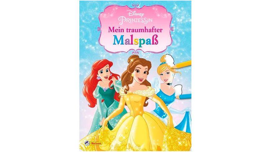 Nelson Verlag Disney Prinzessin Mein traumhafter Malspass