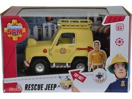 Simba Feuerwehrmann Sam Sam Toms 4x4 Gelaendewagen