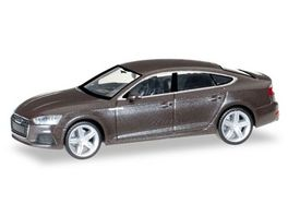 Herpa 038706 Audi A5 Sportback Argusbraun metallic