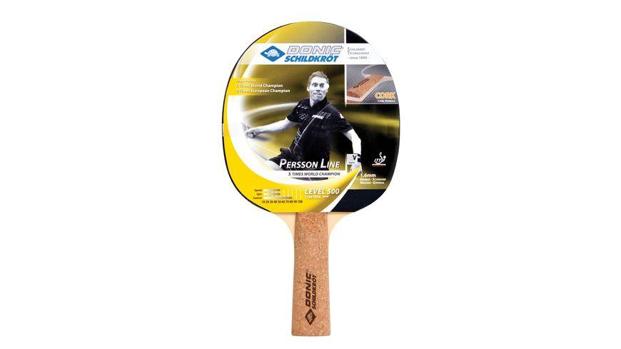 DONIC SCHILDKROeT Tischtennis Schlaeger Persson 500