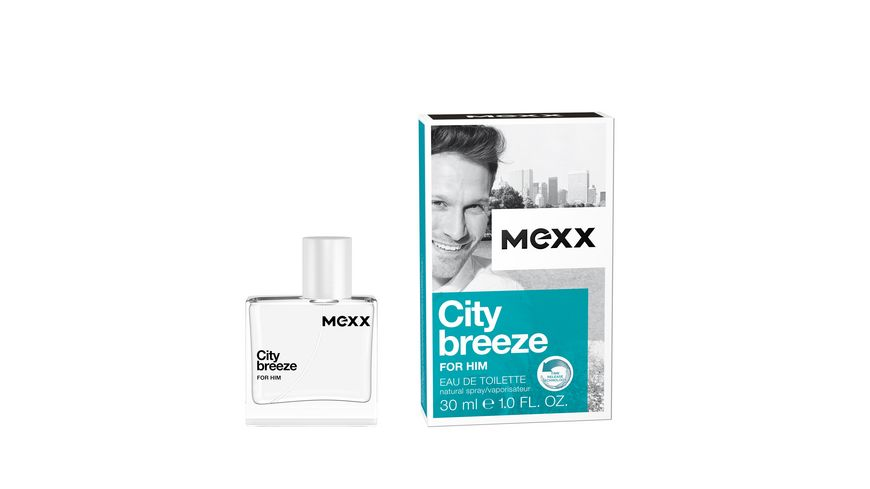 MEXX City Breeze For Him Eau de Toilette Natural Spray