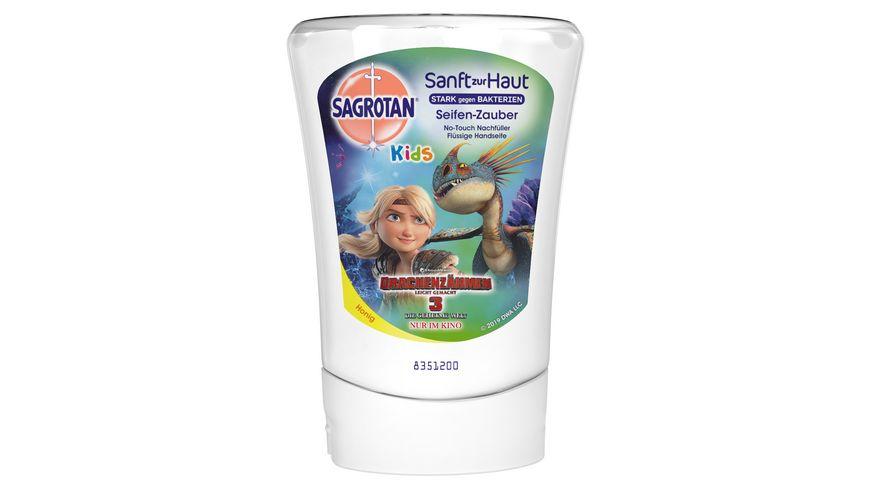 SAGROTAN Kids No Touch Nachfueller Seifenzauber Kamille