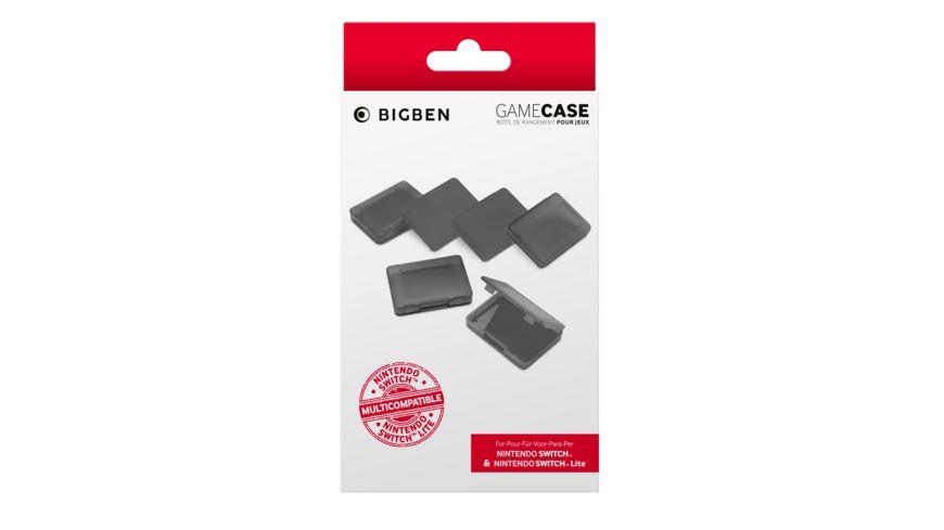BIGBEN Game Case Set farblich sortiert Switch