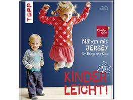 Buch frechverlag Naehen mit JERSEY kinderleicht