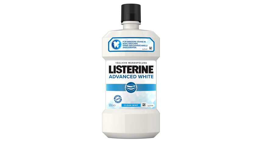 LISTERINE Mundspuelung Advanced White