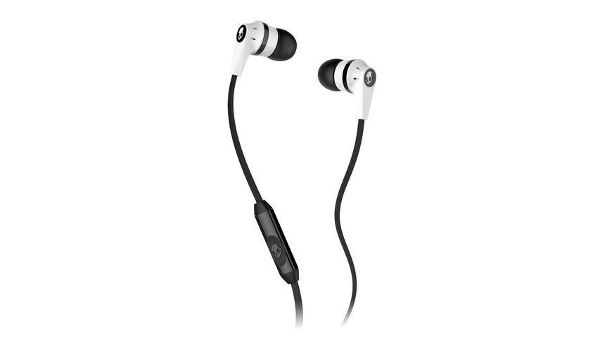 Headset Skullcandy INKD 2 0 IN EAR W MIC 1 WHITE BLACK WHITE