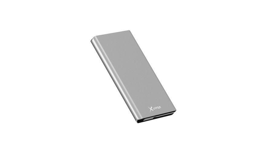 Zusatzakku XLayer Powerbank Comfort PRO Polymer Aluminium 6000mAh Smartphones Tablets
