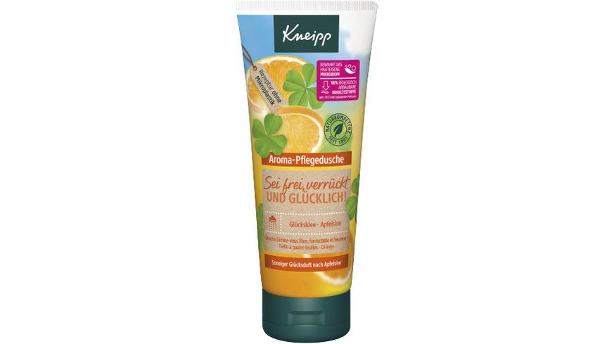 Kneipp Aroma Pflegedusche Sei frei verrueckt und gluecklich