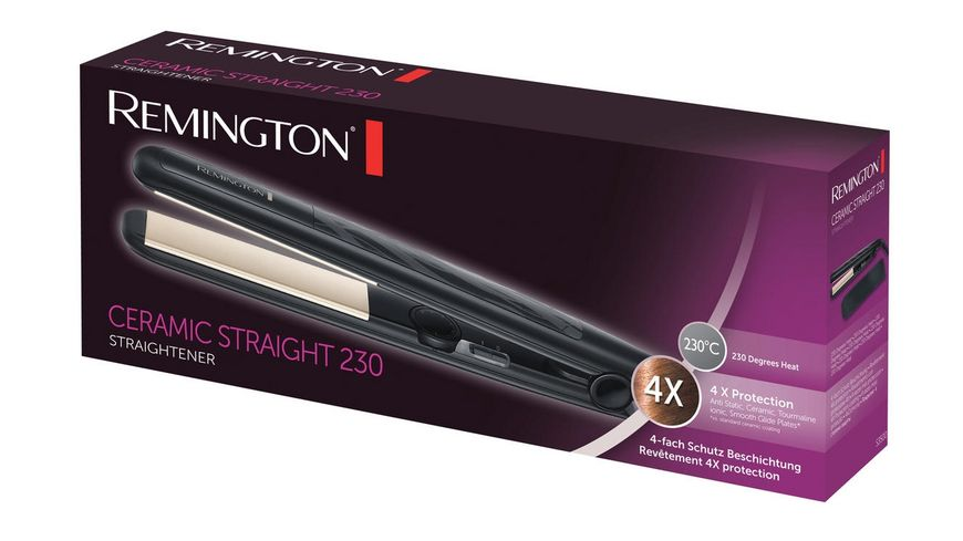 REMINGTON Haarglaetter Ceramic Straight S3500