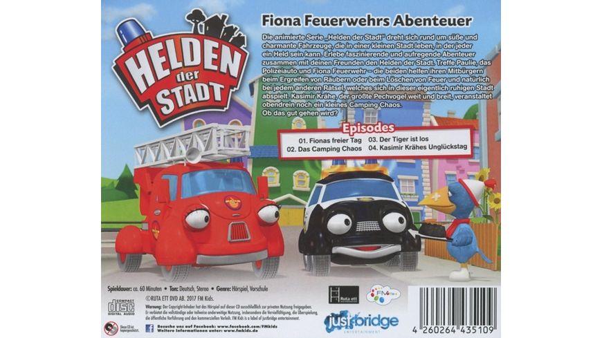 Fionas Feuerwehr Abenteuer CD Hoerspiel