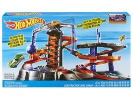 Mattel Hot Wheels Constuction Zone Chaos