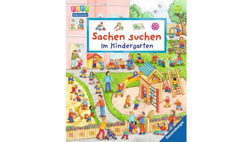 Ravensburger Bilderbuch Sachen suchen Im Kindergarten