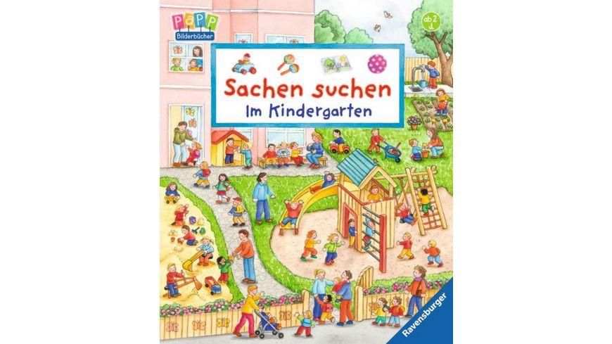 Ravensburger Buch - Sachen suchen - Im Kindergarten
