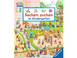 Ravensburger Buch Sachen suchen Im Kindergarten