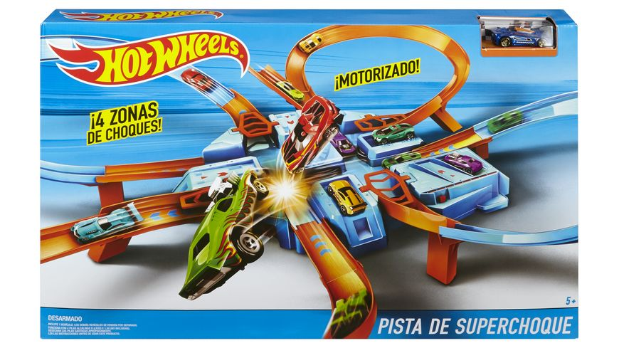 Mattel Hot Wheels Criss Cross Crasch