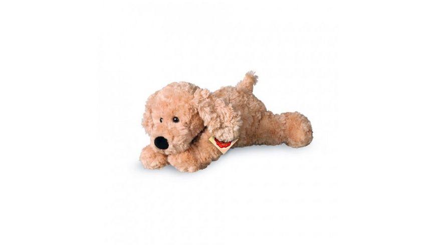 Teddy Hermann Hunde Schlenkerhund beige 28 cm