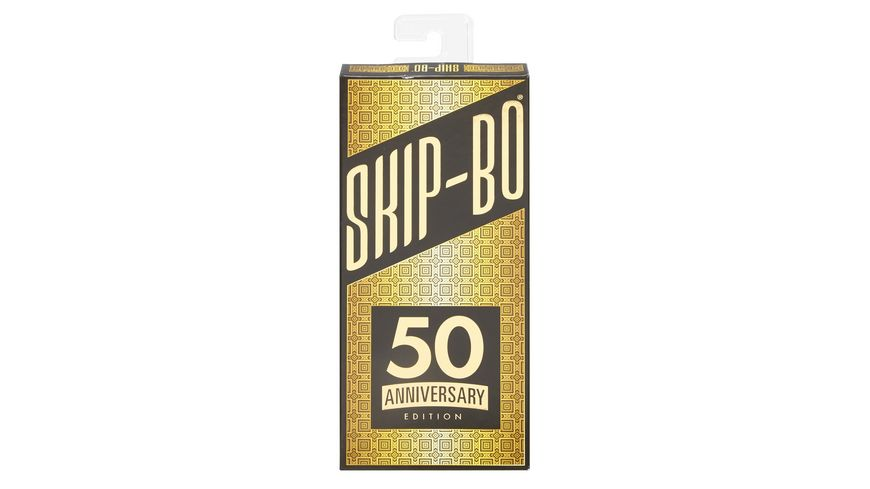 Mattel Games Skip Bo 50 Jahre Jubilaeums Edition