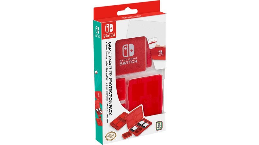 Switch Protection Pack NNS10 Offiziell lizenziert red