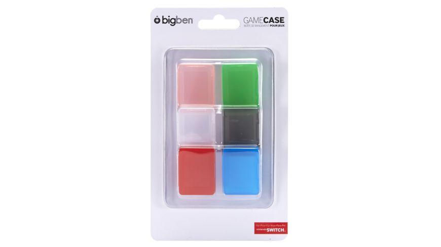 Game Case Set farblich sortiert 6 Stueck fuer die Switch