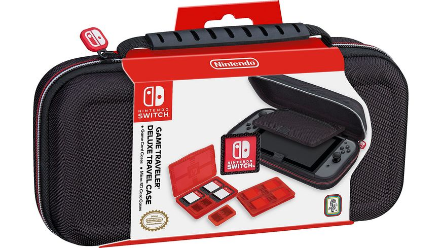 Switch Travel Case NNS40 Offiziell lizenziert black