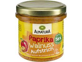 Alnatura Brotaufstrich Gartengemuese Paprika Walnuss