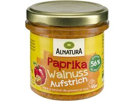 Alnatura Gartengemuese Paprika Walnuss