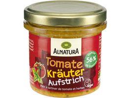 Alnatura Brotaufstrich Gartengemuese Tomate Kraeuter