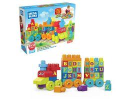 Fisher Price Mega Bloks ABC Lernzug