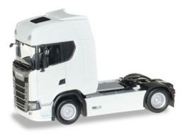 Herpa 306768 Scania CS20 HD Zugmaschine weiss