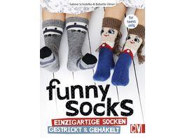 Buch Christophorus Funny Socks