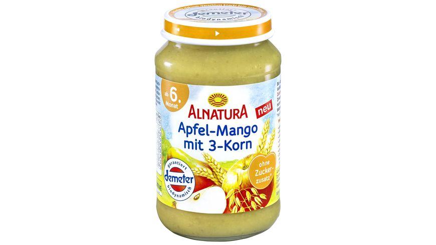 Alnatura Apfel Mango mit 3 Korn