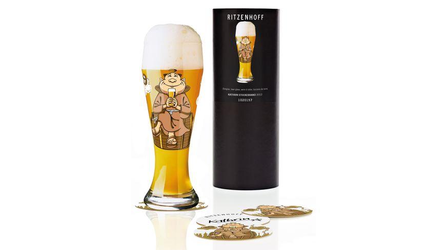 RITZENHOFF Weizenbierglas von Kathrin Stockebrand 0 5l