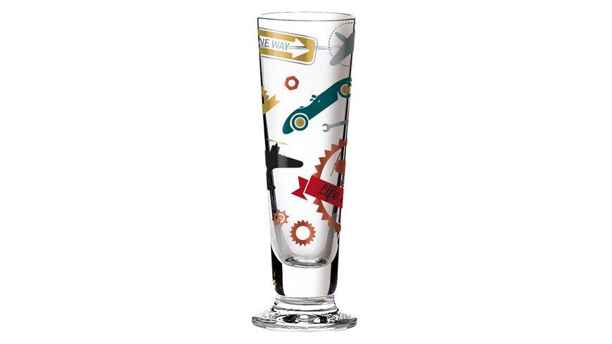 RITZENHOFF Schnapsglas Black Label von Shinobu Ito 40ml