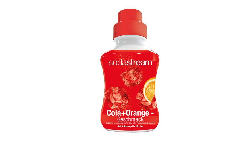 sodastream Sirup Cola Orange 500 ml