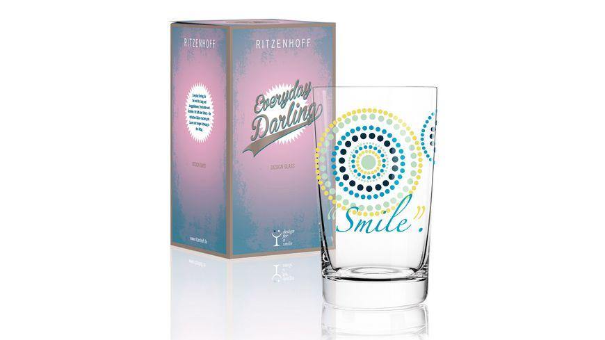 RITZENHOFF Softdrinkglas Everyday Darling von Sandra Brandhofer 300ml