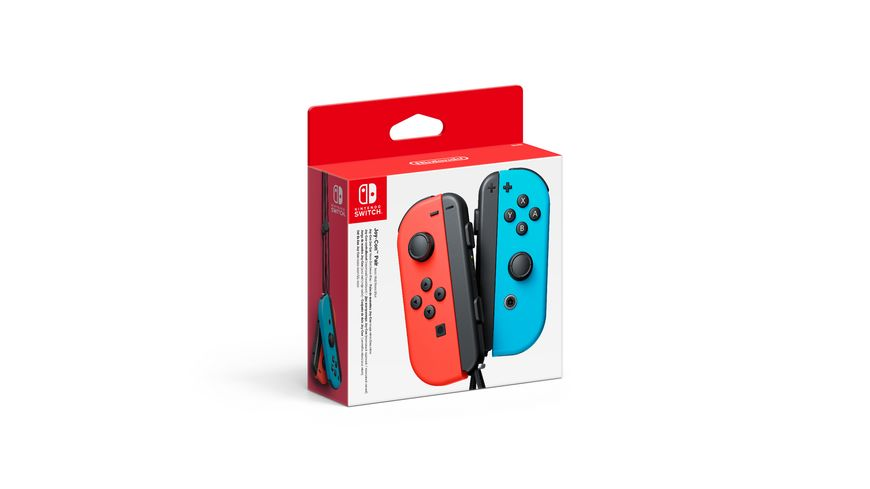 Nintendo Switch Joy-Con 2er Set Neon-Rot/Neon-blau