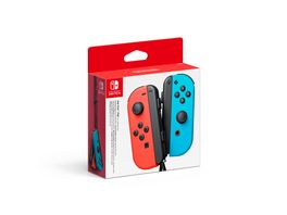 Nintendo Switch Joy Con 2er Set Neon Rot Neon blau