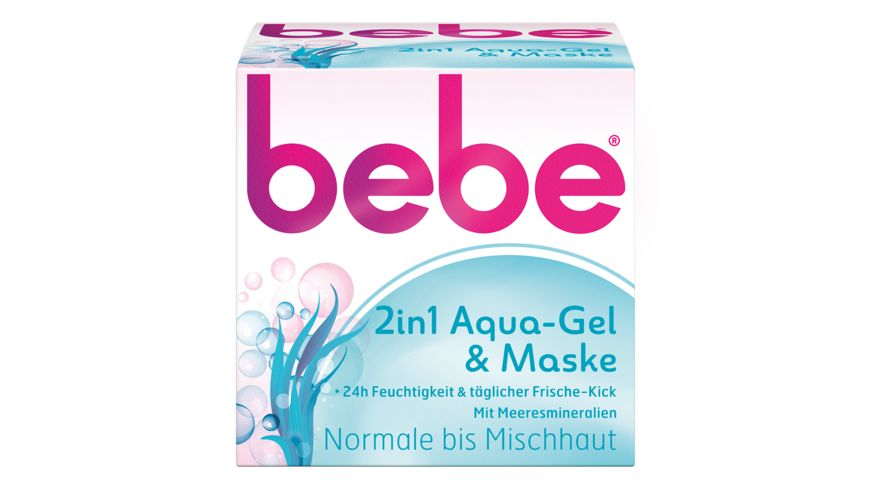 bebe 2in1 Aqua Gel Maske