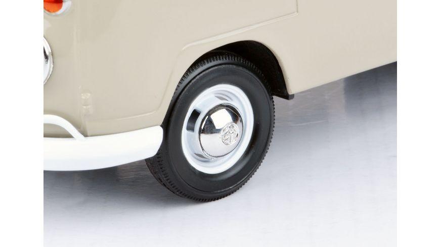 Motor Max VW Typ 2 T1 Doppelkabine 1 24 mit Plane Dachtraeger und Koffern