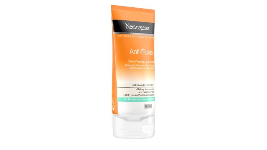 Neutrogena visibly clear Anti Pickel 2 in 1 Reinigung Maske
