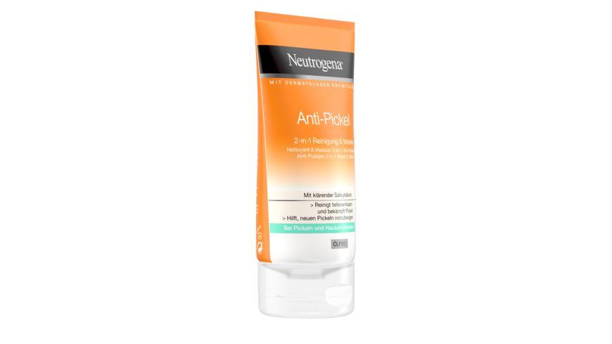 Neutrogena visibly clear Anti Pickel 2 in 1 Reinigung Maske