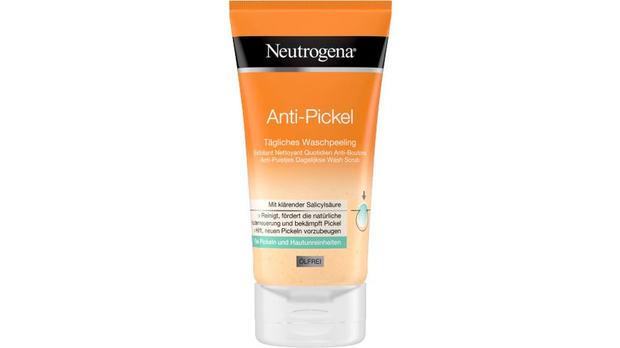 Neutrogena visibly clear Anti Pickel Taegliches Waschpeeling